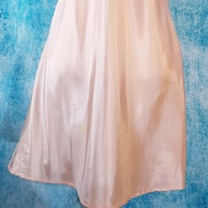 Anthropologie Dresses - Anthro Maeve Peach Slip Mini Dress